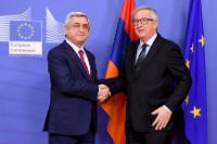 Visit of Serge Sargsyan, President of Armenia, to the EC