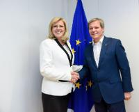 Visit of Dacian Ciolos, former Member of the EC, and former Romanian Prime Minister, to the EC