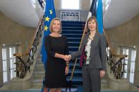 Visit by Federica Mogherini, Vice-President of the EC, to Estonia