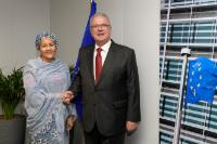 Visit of Amina J. Mohammed, Deputy Secretary General of the United Nations to the EC