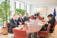 Visit of Mohammed Shahdat Hossain, Head of the Mission of Bangladesh to the EU, to the EC