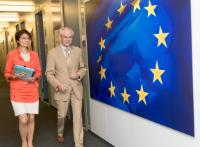 Visit of Herman van Rompuy, former President of the European Council and Chairman of the TomorrowLab Advisory Board, to the EC