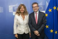 Visit of Emma Marcegaglia, President of BusinessEurope, to the EC
