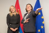 Visit of the Mission of Serbia to the EU, to the EC