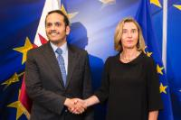 Visit of Mohammed bin Abdulrahman bin Jassim Al-Thani, Qatari Minister for Foreign Affairs, to the EC
