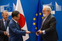 Visit of Hiroshige Seko, Japanese Minister of Economy, Trade and Industry, to the EC