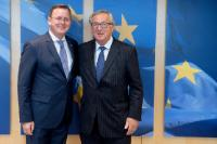 Visit of Bodo Ramelow, Minister-President of Land Thuringia, Germany, to the EC