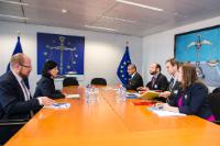 Visit of representatives of NOMAD FOOD to the EC