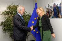 Visit of Sigrid Kaag, Dutch Minister for Foreign Trade and Development Cooperation, to the EC