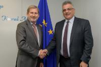 Visite de Mazen Ghunaim, chef de l'Autorité palestinienne de l'eau, à la CE