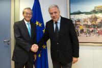 Visite de Zhang Ming, ambassadeur extraordinaire et plénipotentiaire, chef de la mission de la Chine auprès de l'UE, à la CE