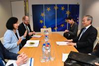 Visit of Zhang Ming, Ambassador Extraordinary and Plenipotentiary, Head of the Chinese Mission to the EU, to the EC