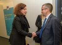 Visit of Ingrid van Engelshoven, Dutch Minister for Education, Culture and Science, to the EC