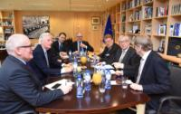 Visit of Members of the EP and Members of the Brexit Steering Group of the EP,  to the EC