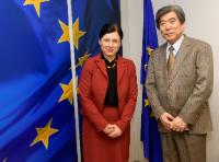 Visit of Kazuo Kodama, Head of the Mission of Japan to the EU, to the EC