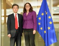 Participation of Cecilia Malmström, Member of the EC, at the EU-Korea Trade Committee