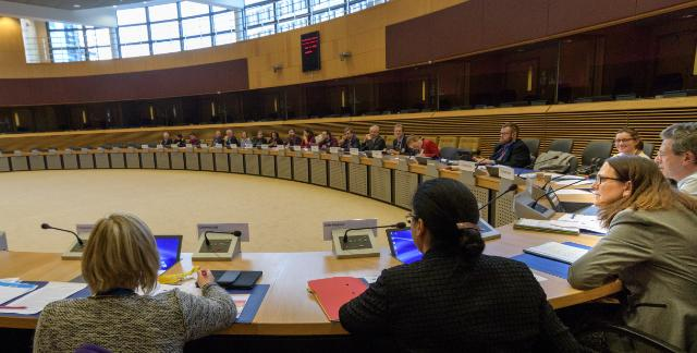 Participation of Cecilia Malmström, Member of the EC, in the 1st meeting of the new expert group on EU trade agreements