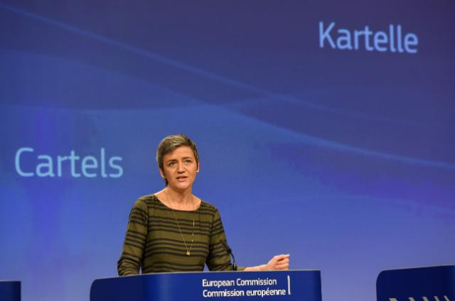 Press conference by Margrethe Vestager, Member of the EC: Commission fines maritime car carriers and car parts suppliers a total of €546 million in three separate cartel settlements