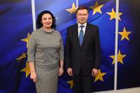 Visit of Ivanna Klympush-Tsintsadze, Ukrainian Vice-Prime Minister for European and Euro-Atlantic Integration, to the EC
