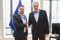Visit of Antonios Koukouzas, President of the Association of Graduates of the Greek Fire Brigade, to the EC