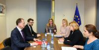 Visit of Cristian Octavian Matei, Mayor of Turda, to the EC.