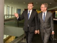 Visit of Steven Maijoor, Chair of the European Securities and Markets Authority (ESMA), to the EC