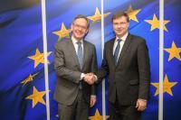 Visite de Steven Maijoor, président de l'Autorité européenne des marchés financiers (AEMF), à la CE