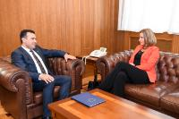 Visit by Federica Mogherini, Vice-President of the EC, to the former Yugoslav Republic of Macedonia