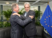 Bilateral meeting between Christos Stylianides, Member of the EC, and David Beasley, Executive Director of the United Nations World Food Programme (WFP)