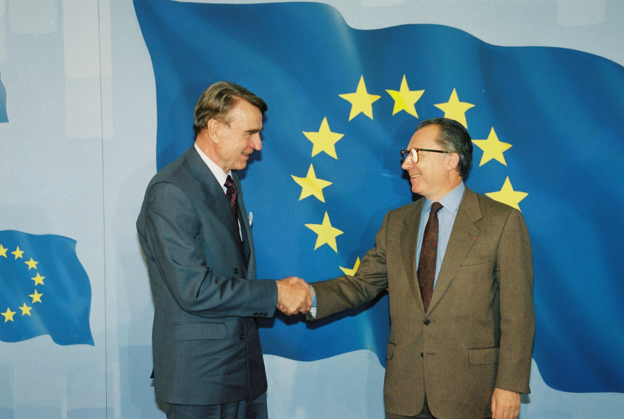 Visit of Mauno Koivisto, President of Finland, to the CEC