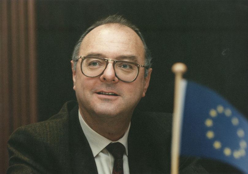 Yves Franchet, directeur général à la CCE