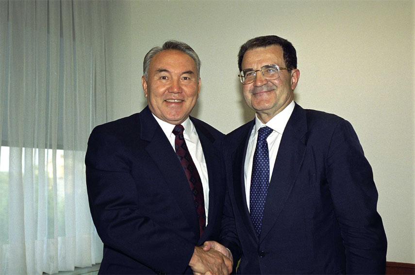 Nursultan A. Nazarbayev visits the European Commission