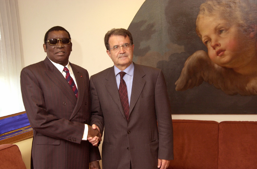 Informal visit of Gnassingbé Eyadema, President of Togo, to the EC
