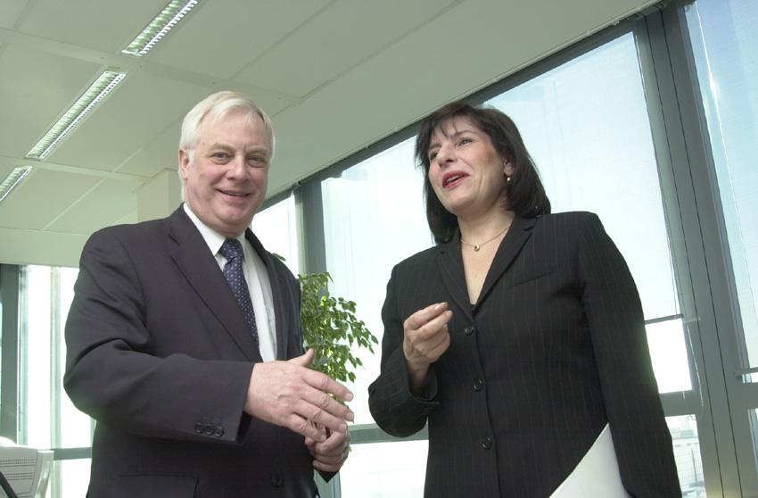 Visite d'Ilinka Mitreva, ministre des Affaires étrangères de l'ancienne République yougoslave de Macédoine, à la CE