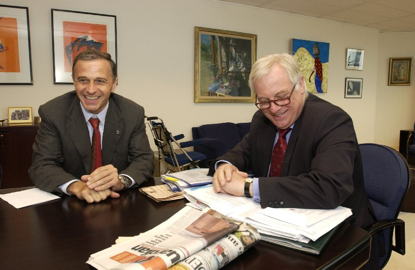 Visit of Mircea Dan Geoana, Romanian Minister for Foreign Affairs, to the EC