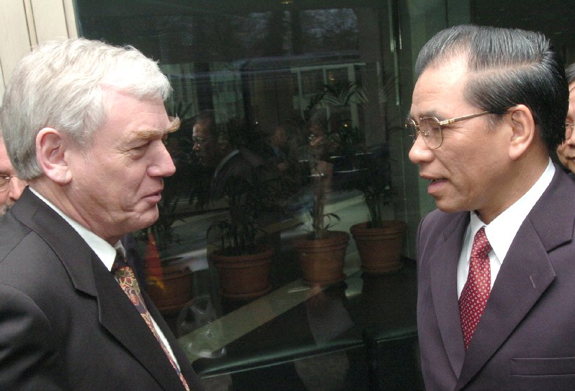 Visit of Nong Duc Manh, Secretary General of the Central Committee of the Vietnamese Communist Party, to the EC