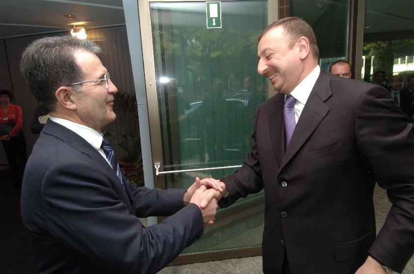 Visit of Ilham Aliyev, President of Azerbaijan, to the EC