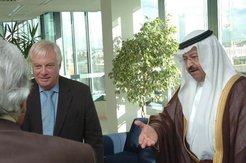 Visit of Ghazi Al-Yawer, President of the Council of the Iraqi Government, to the EC