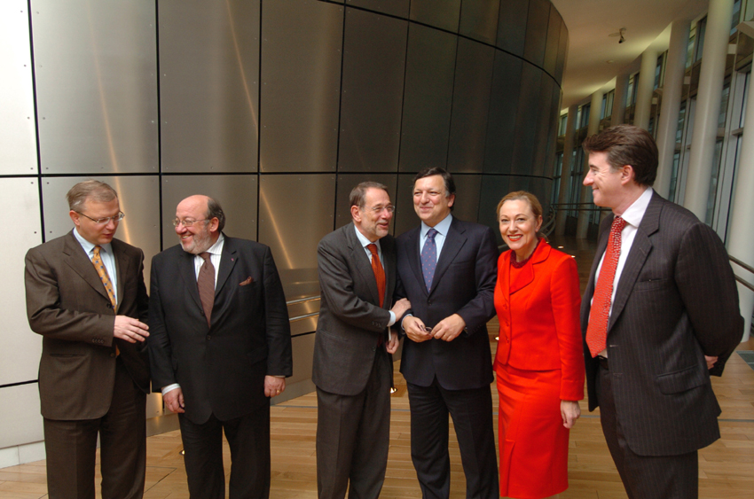 Visit of Javier Solana, Secretary General of the Council of the EU and High Representative for CFSP, to the EC