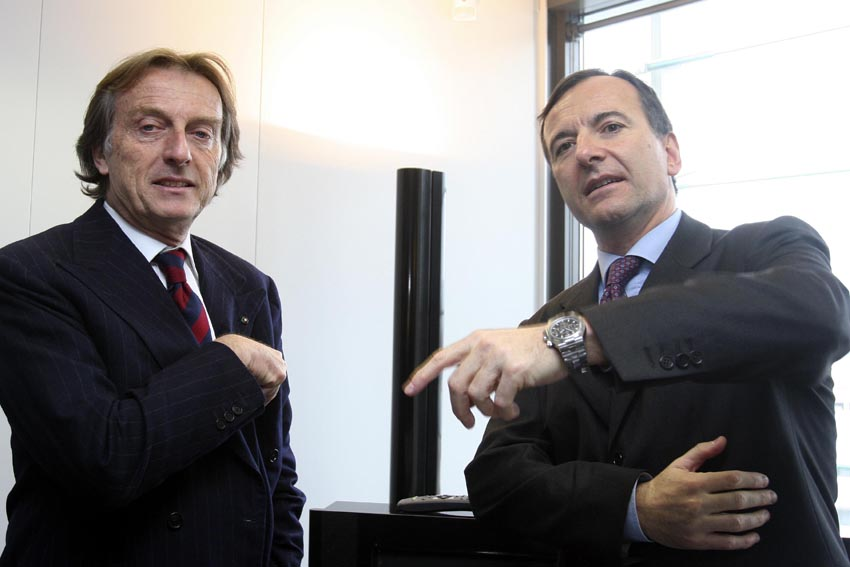 Visit of Luca Cordero di Montezemolo, Chairman of Confindustria and Chairman of Fiat, to the EC
