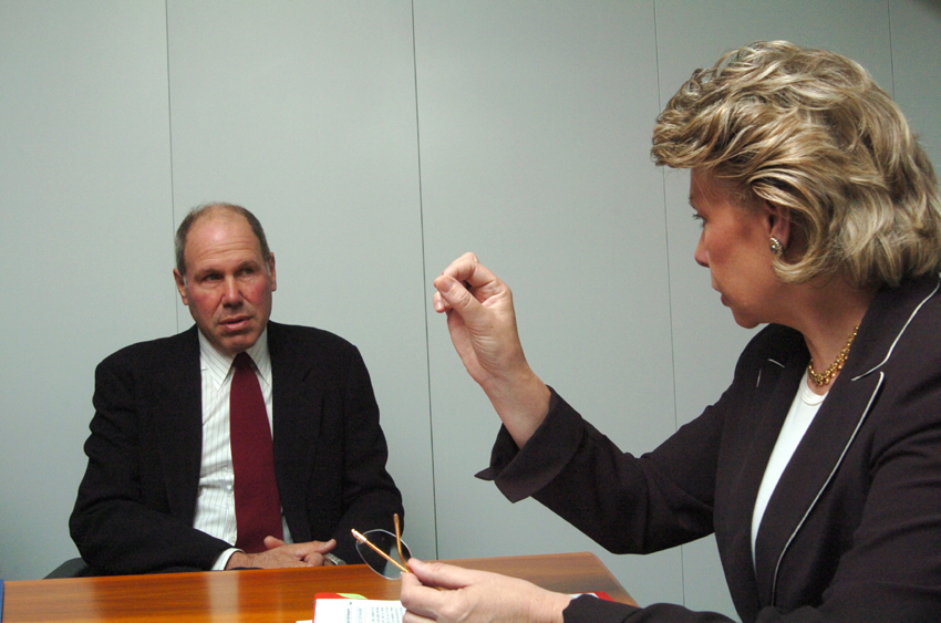 Visit of Michael Eisner, CEO of the Walt Dysney Company, to the EC