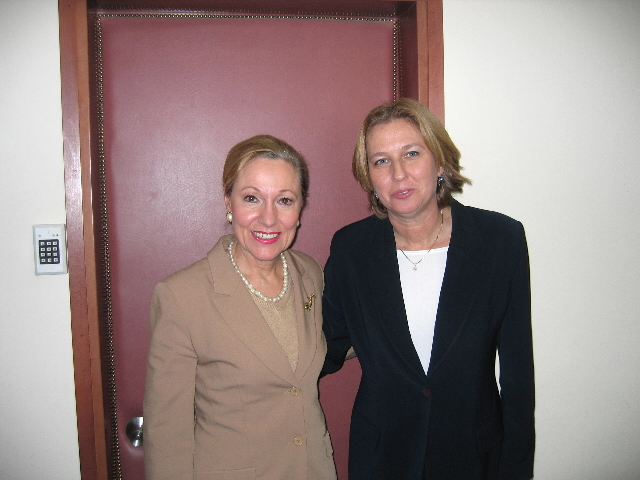Visit by Benita Ferrero-Waldner, Member of the EC, to Middle East