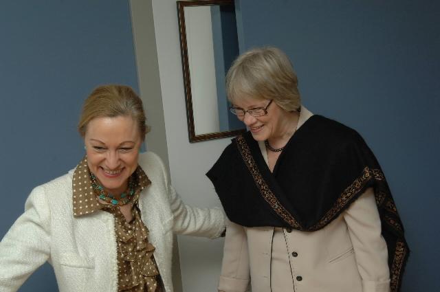Visite de Karen Koning AbuZayd, commissaire général de l'UNRWA, à la CE