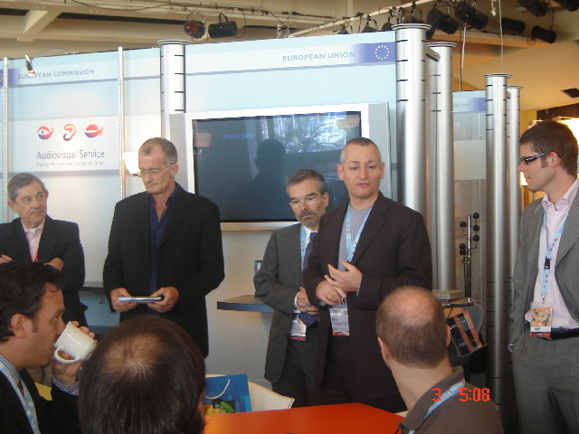 Participation of the  Audiovisual Service of the EC, at the MIPTV
