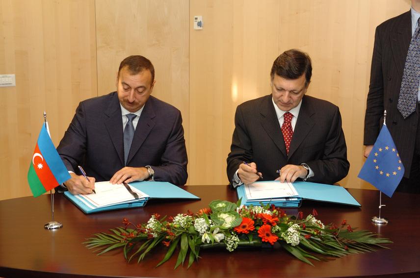 Visit by Ilham Aliyev, President of Azerbaijan, to the EC