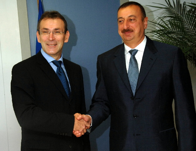 Visit by Ilham Aliyev, President of Azerbaijan, to the EC