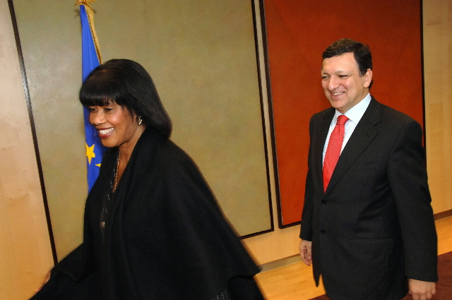 Visit by Portia Simpson-Miller, Jamaican Prime Minister, to the EC