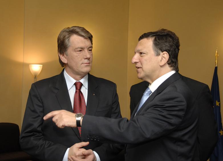 Visit by Viktor Yushchenko, President of Ukraine, to the EC