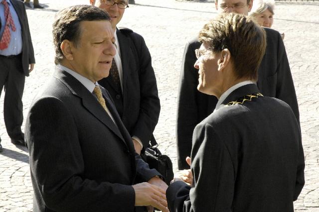 Visit by José Manuel Barroso to Germany