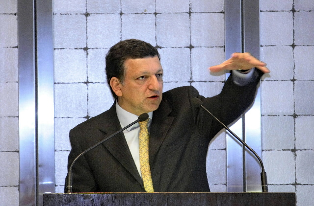 Visit by José Manuel Barroso to Germany